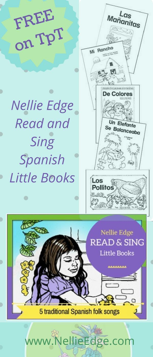 Online Store - Nellie Edge Read and Sing Big Books™ | Pinterest ...