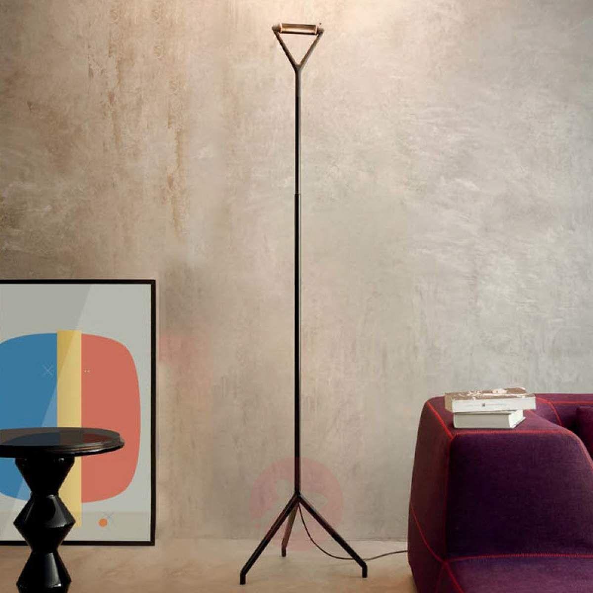 Czarna Lampa Stojąca Lola Ze ściemniaczem W 2019 Lampy