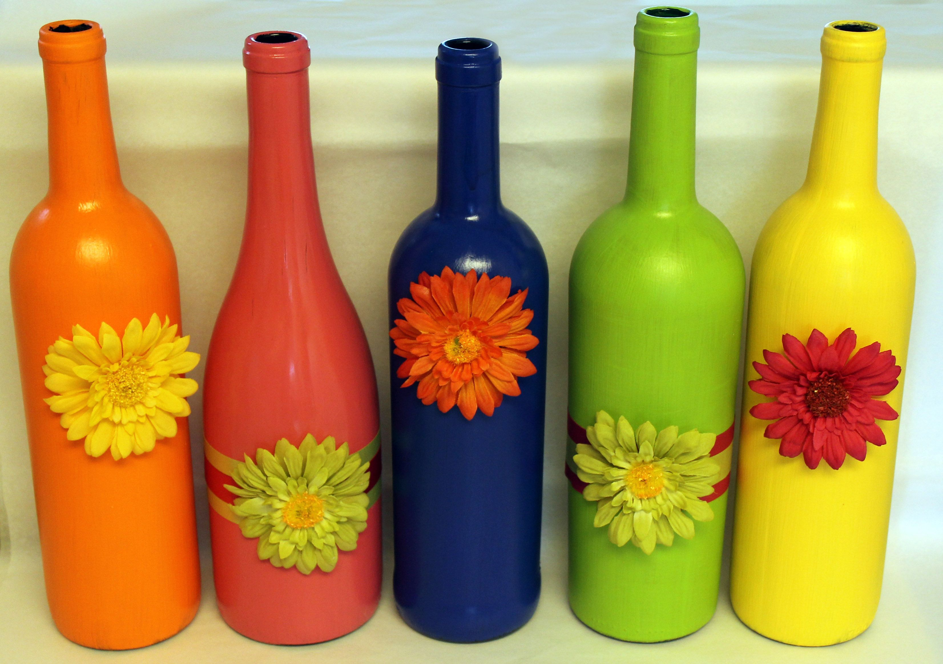 Pin By Kenise Miller On Bottles Bottle Crafts Wine Bottle Crafts Easter Wine Bottles