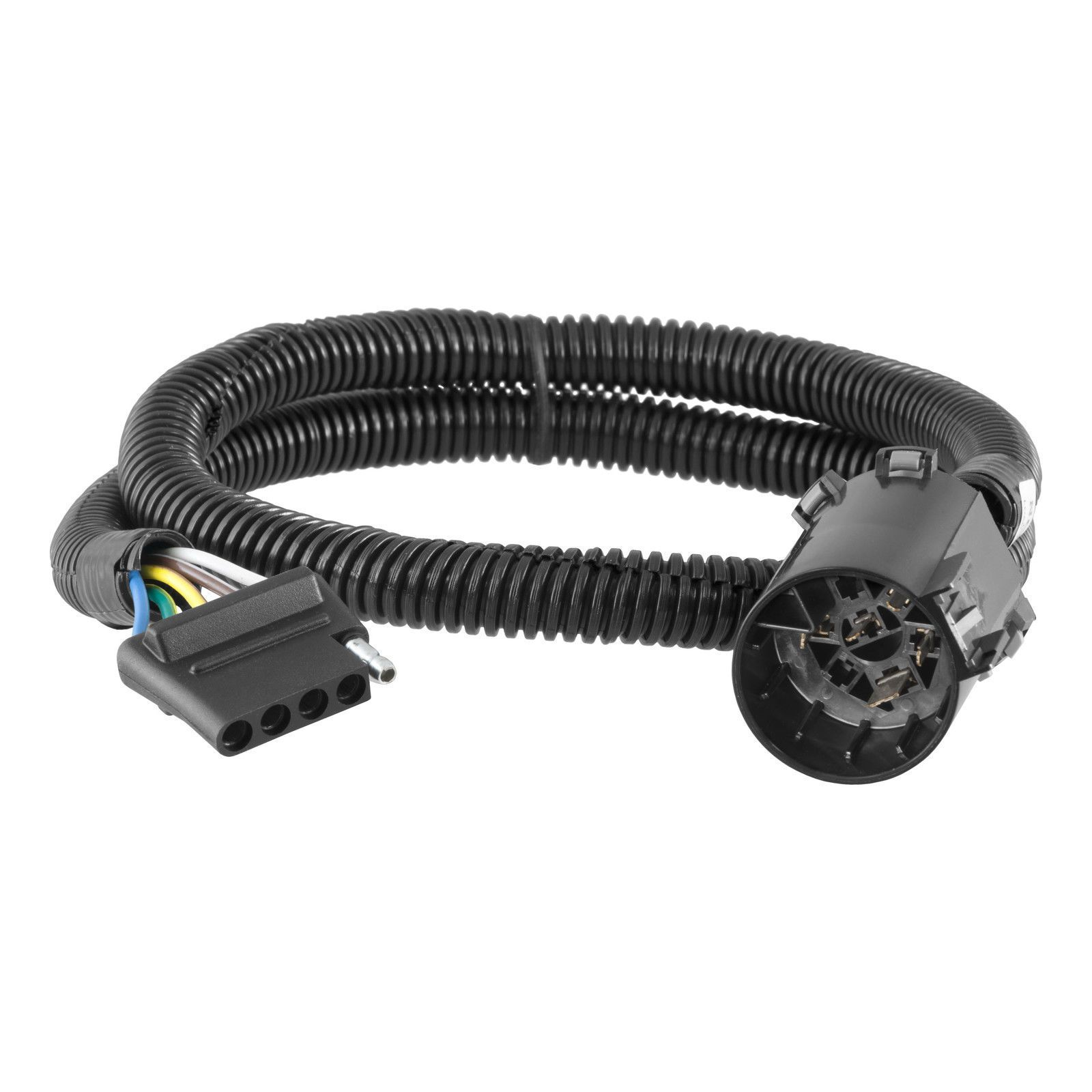 curt wiring 56515 vehicle-to-trailer connector for ford, chevy, gmc, buick,  jeep