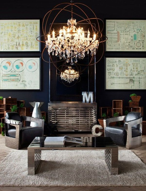 Industrial Living Room Design 20 Eye Catching Industrial Living Room Ideas  Industrial Living