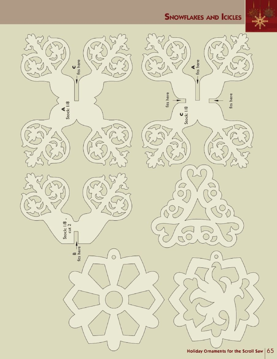 Holiday ornaments for the scroll saw scroll saw christmas