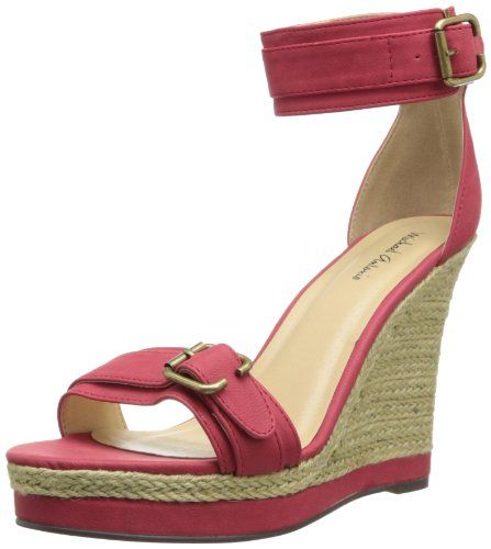 BUY NOW Adjustable buckle closure at ankle cuff. Open-toe silhouette. Single strap vamp with decorative buckle detail. Synthetic lining and footbed. Raffia wrapped platform and wedge heel. Synthetic sole. Imported. BUY NOW $59.99 BUY NOW The post Michael Antonio Women s Gimli Espadrille Sandal appeared first on Best Place for Shoppers.