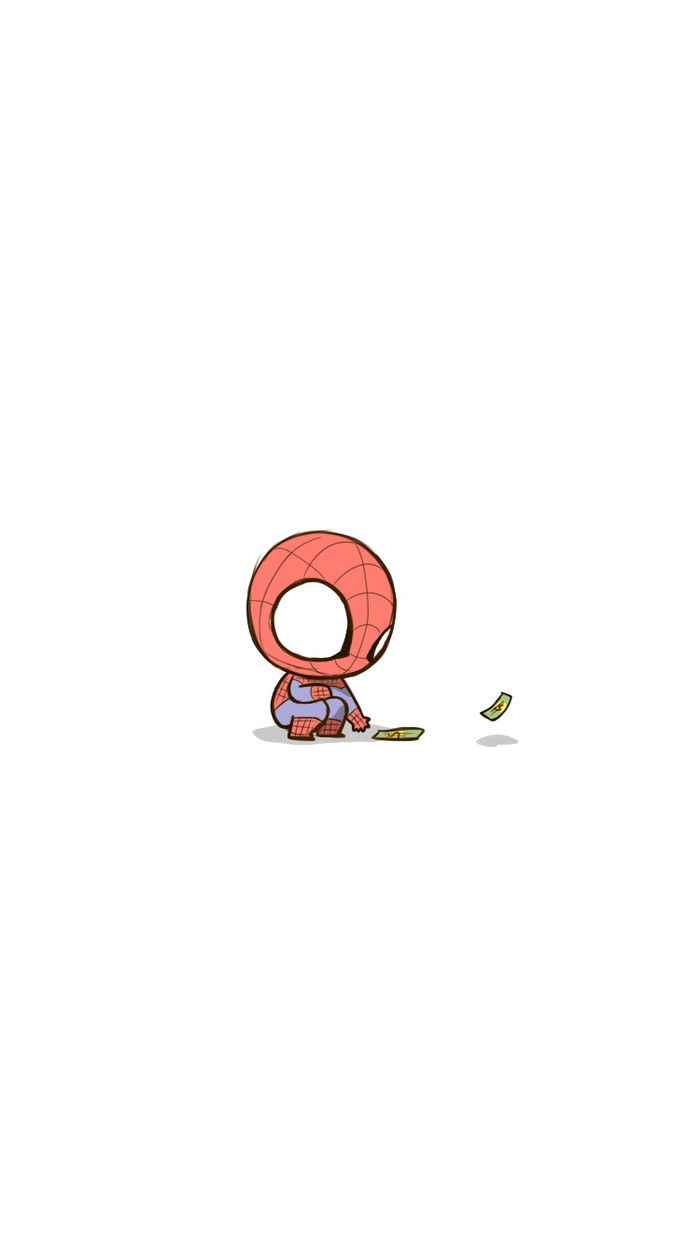 This is spidey again | Marvel | Cute cartoon wallpapers ...