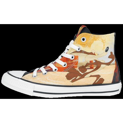Looney Tunes Wile E. Coyote & Road Runner Men Sneakers