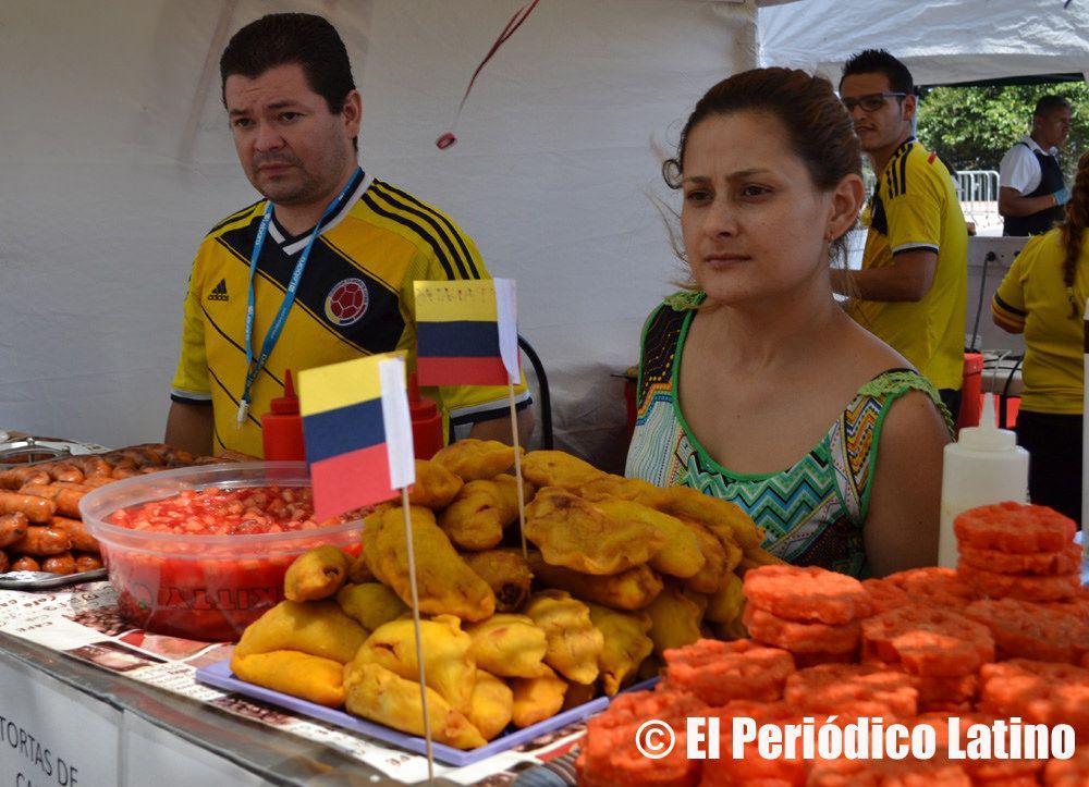 Celebración de las Fiestas Patrias de Colombia en el Fórum 2014