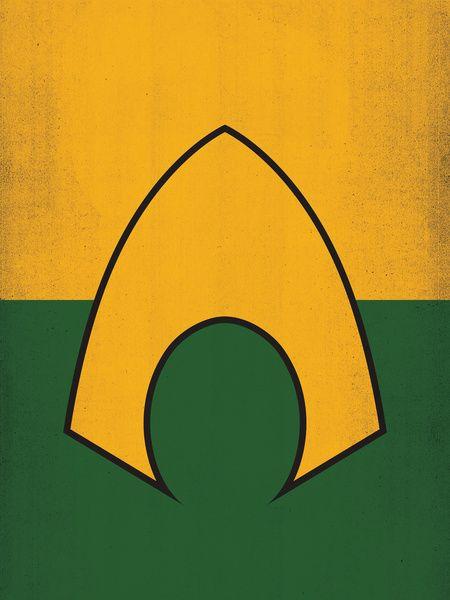 AQUAMAN LOGO | Media: DC | Pinterest | Aquaman, Justice ...