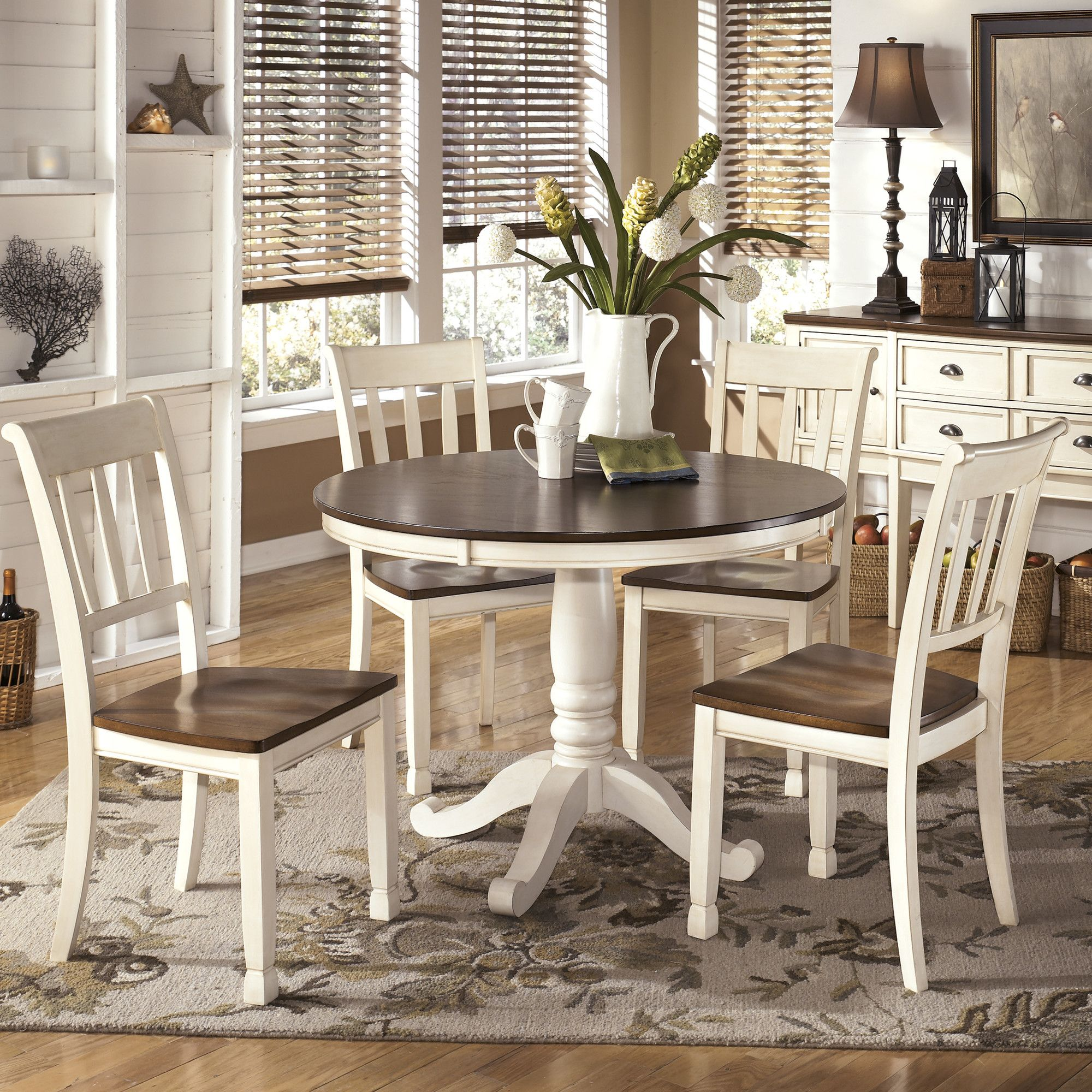 Throckmorton 5 Piece Dining Set