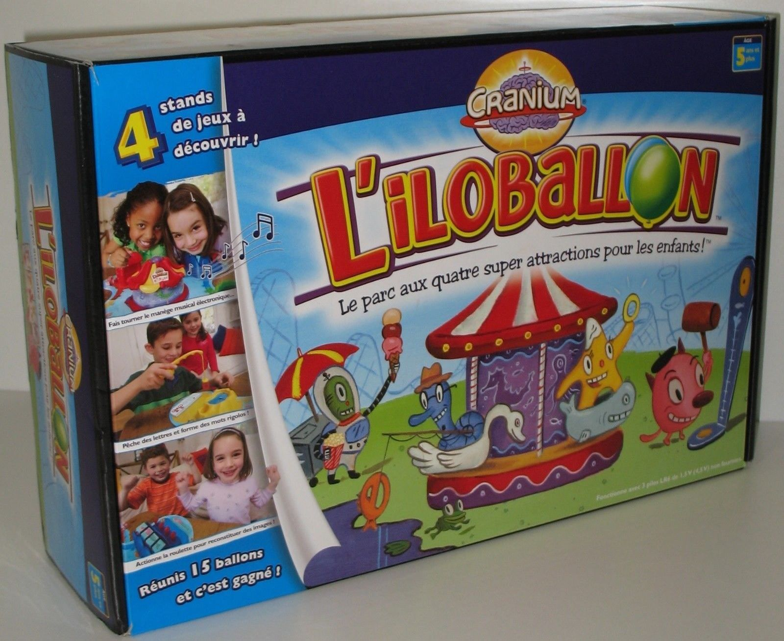 French Cranium Liloballoon Board Game Called Balloon Lagoon In