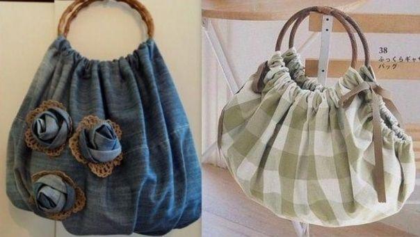 27f0e31e445175 Recycler ses habits pour en faire des sacs   Couture   Pinterest ...