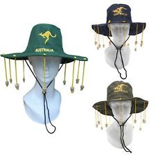 4c44ea7f016 New Aussie OZ Cork Hat Australian Souvenir Adult Crocodile Dundee Costume