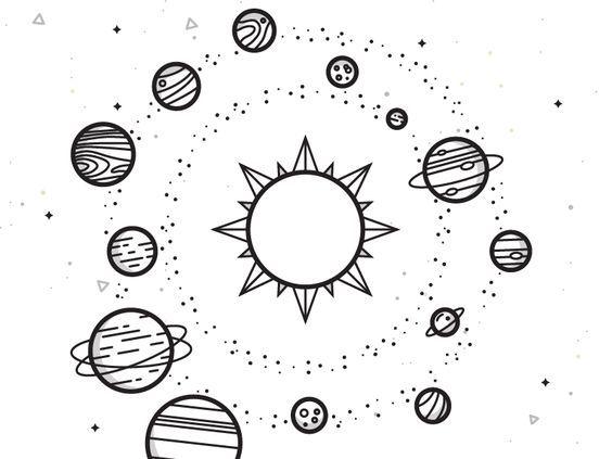 Pin De Viole En Dibujar En 2020 Planeta Dibujo Dibujos Del Espacio Universo Dibujo
