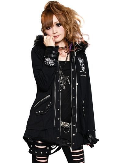 2WAY PUNK GIMMICK Parka / See more at www.cdjapan.co.jp... #punk #jrock