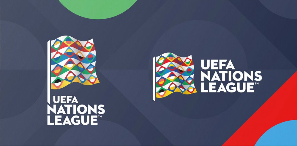 New Logo And Identity For Uefa Nations League By Y R Branding Identity Logo Branding League
