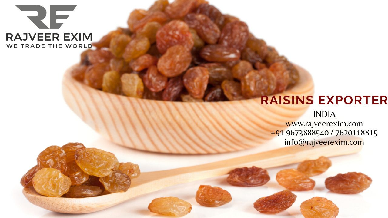 SunDried Indian Fresh 2019 Raisins Export Quality Contact