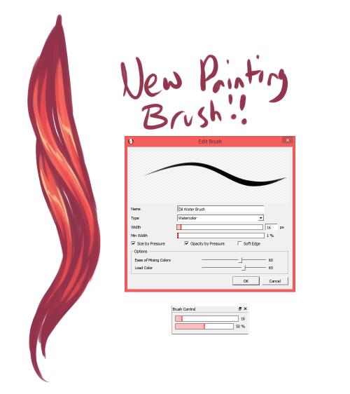 miss-nerdgasmz: BRUH I managed to get FireAlpaca brush settings to