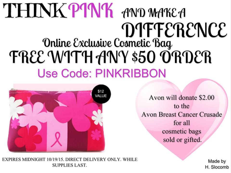 coupon code for pink ribbon shop