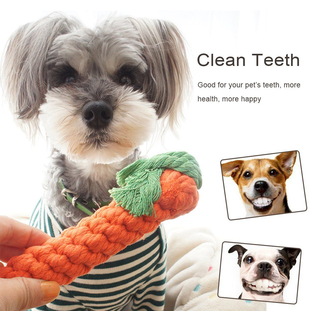 Small Dog Toys Pets Pet Dog Rope Toys 100 Natural Cotton Rope