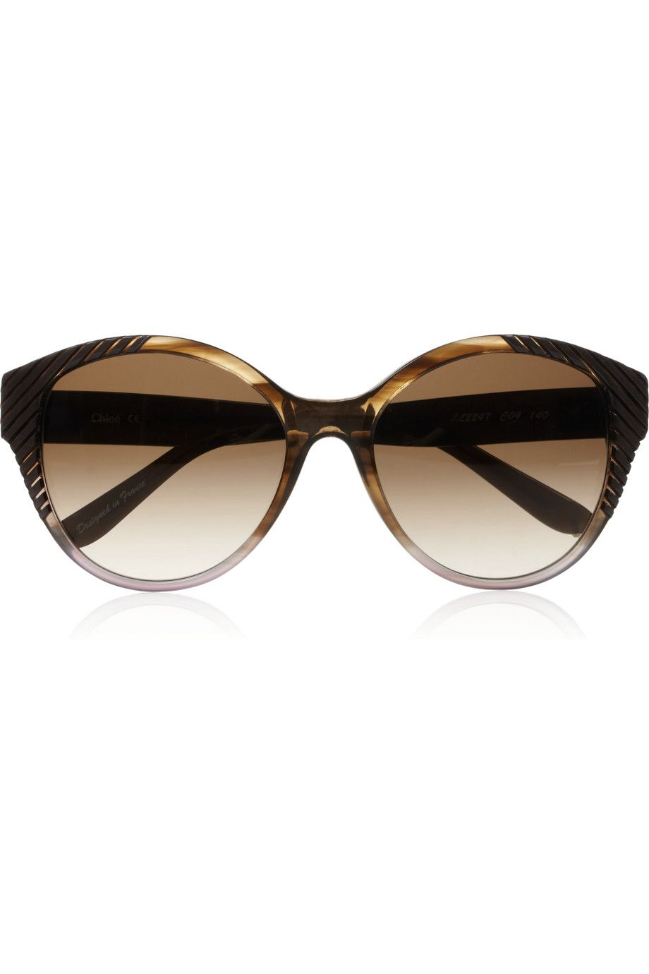 ae915c1e Cat eye acetate sunglasses by Chloé #Fashion #Accessory ...