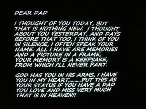 Fathers Day Quotes To My Dad In Heaven Rip Daddy Tumblr