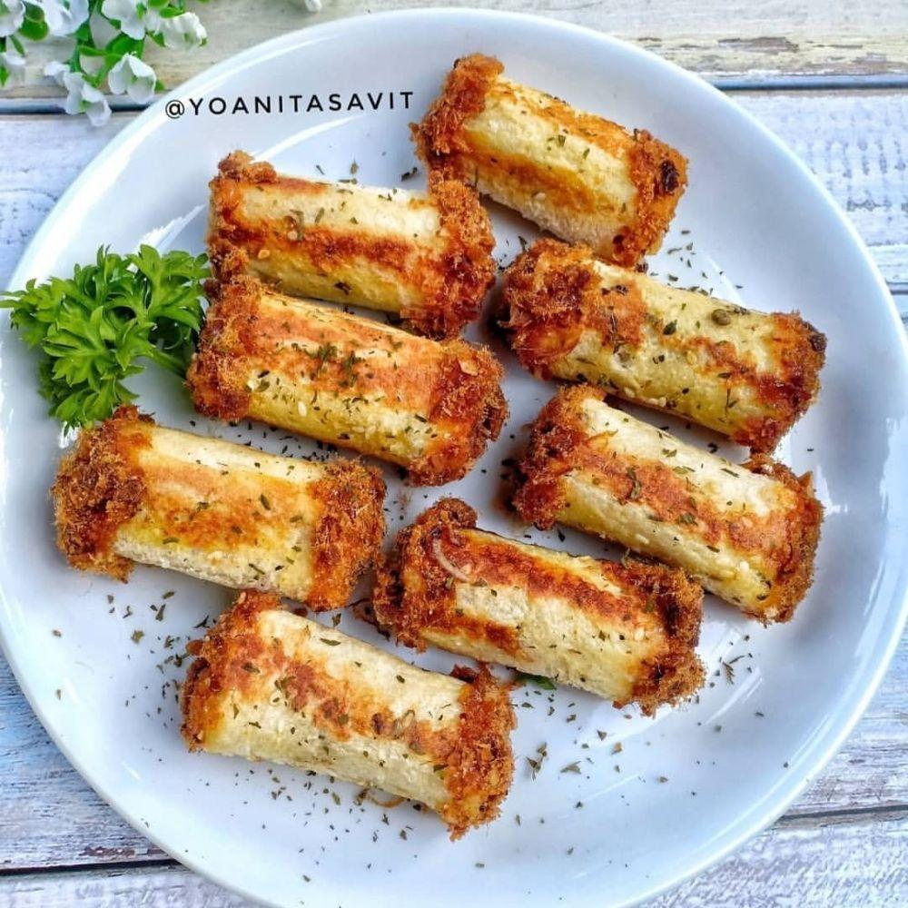 Resep Camilan Untuk Kerja C 2020 Brilio Net Resep Makanan Ringan Mudah Roti Gulung