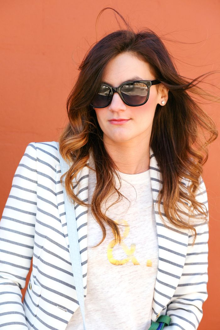 0b0aeb61539 Jessye of City Tonic wearing Reilly sunglasses in Whiskey Tortoise ...