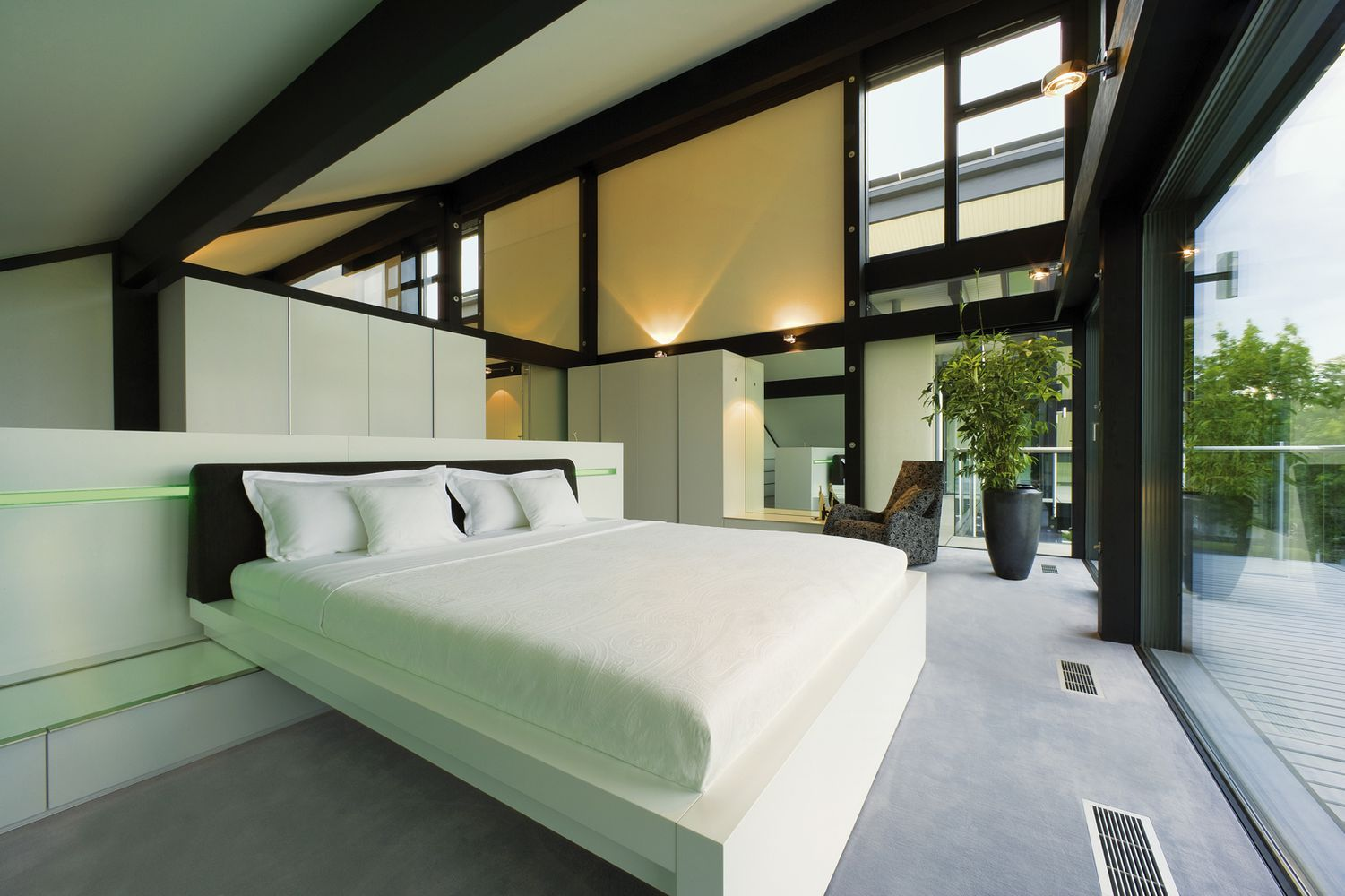 Excellent Photo Gallery Of Prefabricated Houses Huf Haus Huf Haus Largest Home Design Picture Inspirations Pitcheantrous
