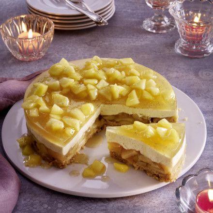 schwedischer apfelkuchen ohne backen rezept yummy pinterest. Black Bedroom Furniture Sets. Home Design Ideas