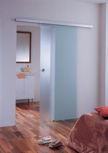 glazen schuifdeur - luxe schuifsysteem   vidre glastoepassingen, Badkamer