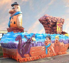 Flintstones Parade Floats Boat Parade Yabba Dabba Doo