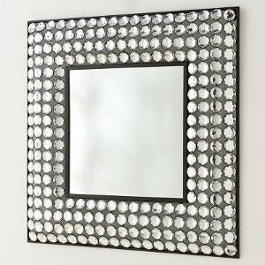 Bling Mirror Saw A Mirror Similar To This In Homesense For Only 75 What A Statement Mirror Wall Decor Mirror Wall Cool Mirrors