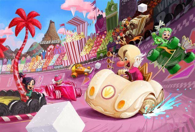 Wreck It Ralph Concept Art Disney Concept Art Color