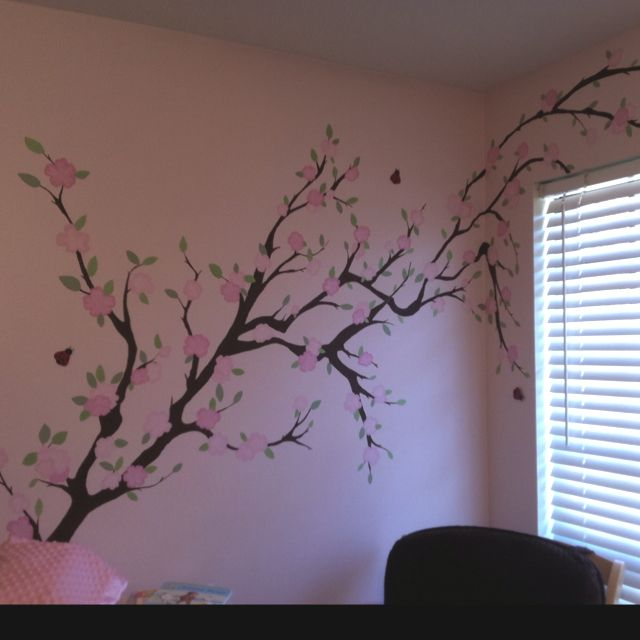repinned for marie cherry blossom mural i painted for the 20122 | 3bd6c3190e625a20122da76a99254047