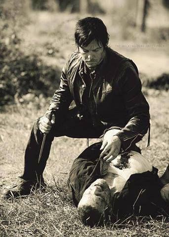 Norman Reedus Daryl Dixon Merle Dixon Michael Rooker The