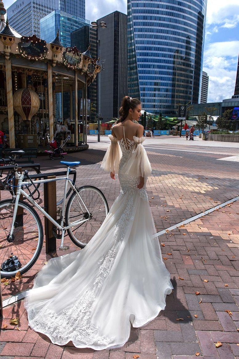 Crystal Design Couture 2019 Wedding Dresses - Paris Collection Mermaid Wedding Dresses #weddingdress #weddinggown #weddingdresses #bridalgown