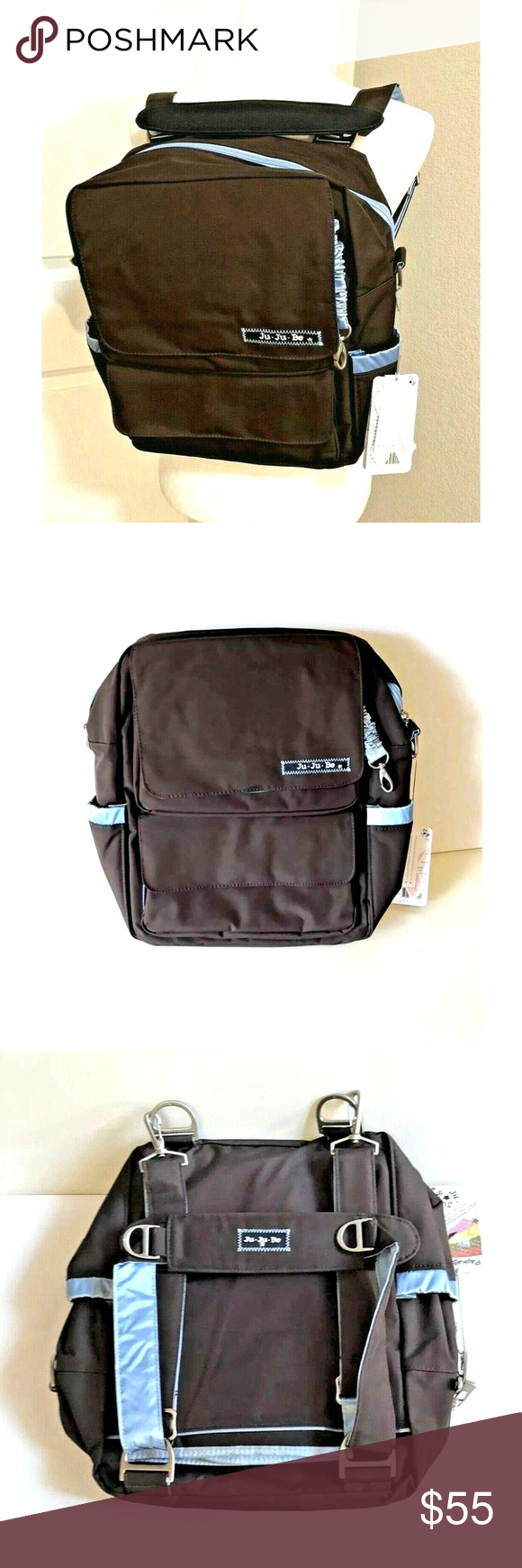 JuJuBe PackaBe Diaper Backpack Messenger Bag NWT in 2020 ...