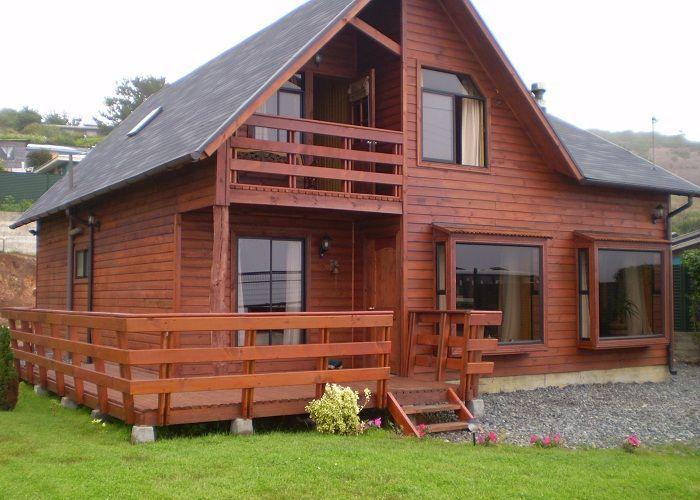 Casas de madera canadienses in 2019 log home living - Casa de madera prefabricadas ...