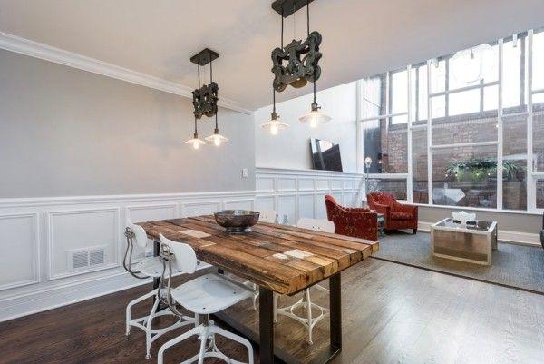 45 esszimmer und küchen ideen mit industriellem touch
