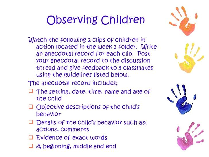 Back To Basics A Brief Summary Of Early Childhood