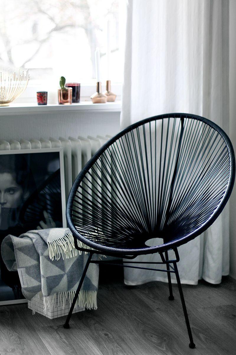 interior: the acapulco chair | stühle, innenräume und blog, Innenarchitektur ideen