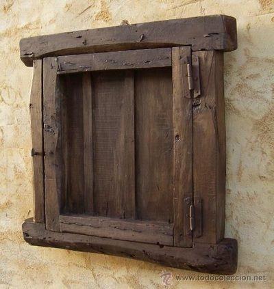 Ventanas carpinteriarquitectonica ventanas pinterest for Ventanas de madera rusticas precio