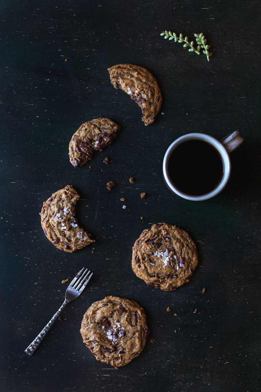 Really Good Chocolate Chip Cookies with Sea Salt