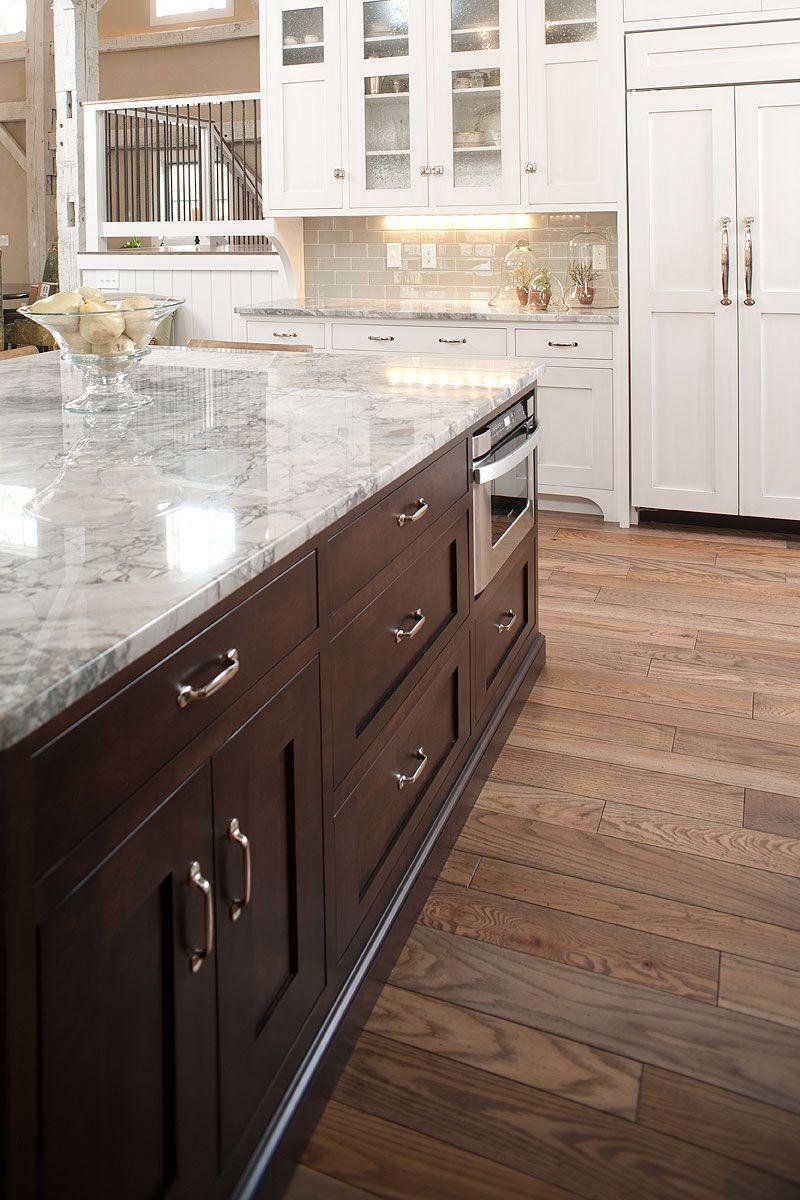 New Rebuilt Timber Frame Barn Home Kitchen Kitchen