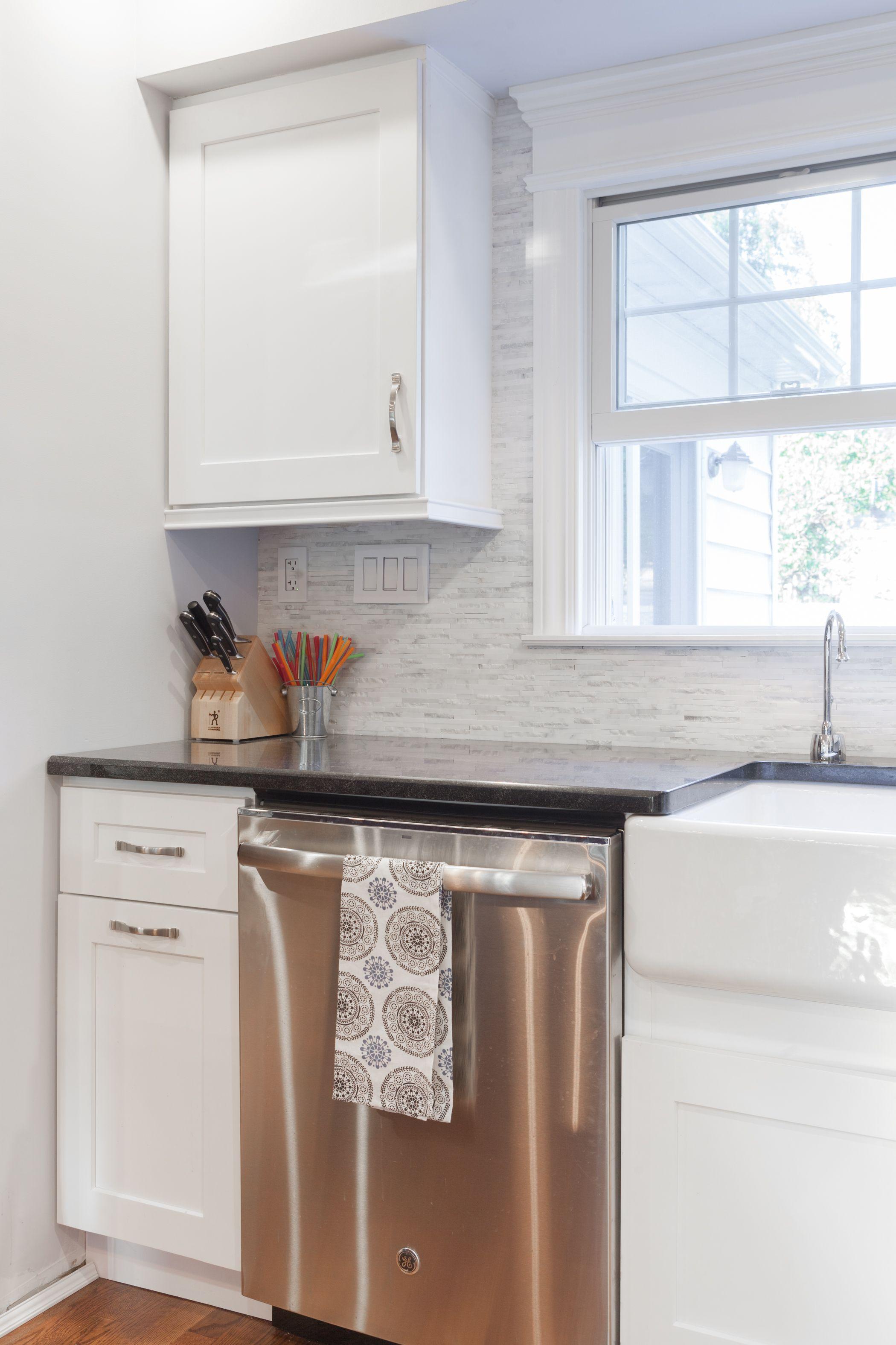 J&K White Maple Cabinets. Style S8 | J&K Modern Cabinets | Pinterest ...