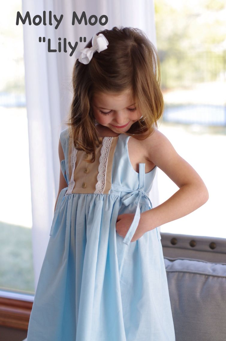 Super cute  Molly Moo Easter dress!  Five different colors to choose from.  https://www.facebook.com/mollymoobowtique