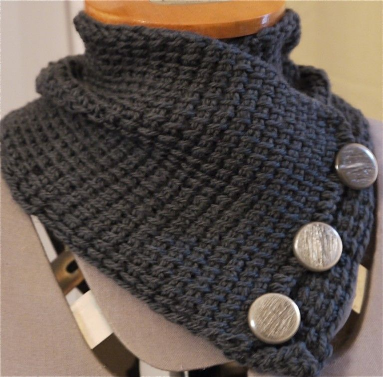 genuino autentica di fabbrica alta qualità Scaldacollo ai ferri | Lavorare la lana con i ferri ...
