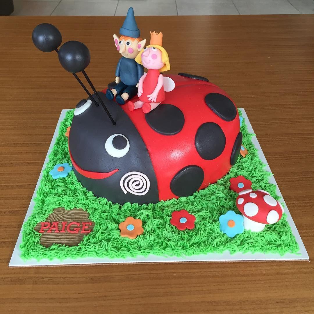 Ben And Holly Birthday Cake 1st Birthday Cakes 3rd Birthday