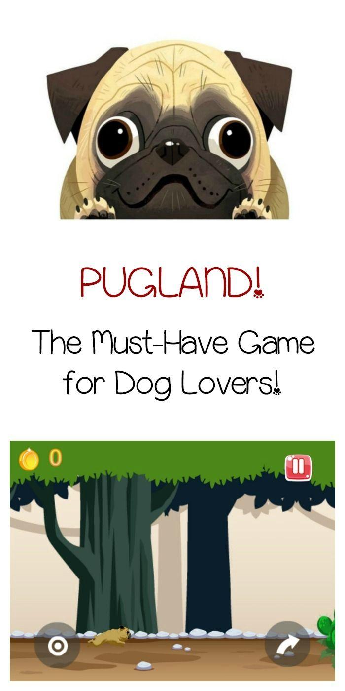 Pug Land App Super Cute Free Adventure Game Dog Games Pugs