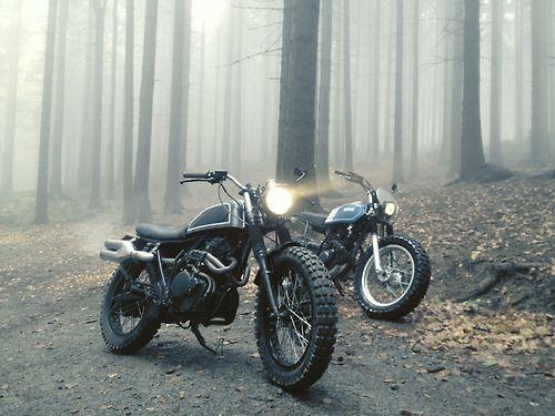 Street Tracker and Scrambler #motorcycles #scrambler #motos | caferacerpasion.com