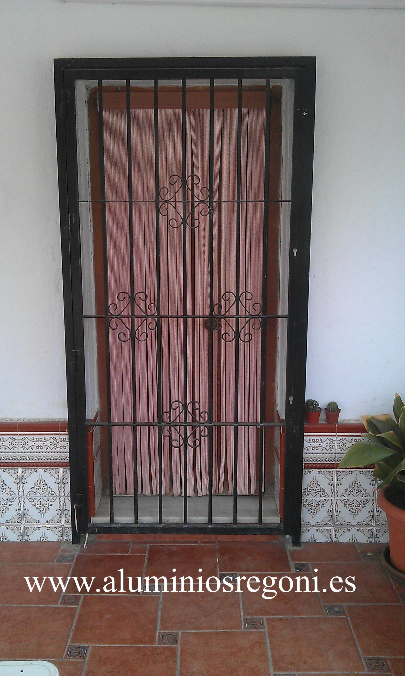 Puerta reja   Puertas de hierro   Pinterest   Puerta reja, Rejas y ...